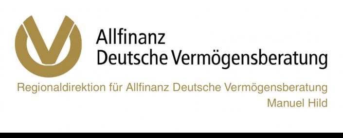 Allifinanz Deutsche Vermögensberatung Manuel Hild